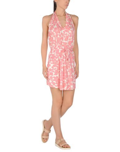 ¡Cómpralo ya!. MISS BIKINI Vestido de playa mujer. punto jersey, cinturón, estampado floral , vestidoinformal, casual, informales, informal, day, kleidcasual, vestidoinformal, robeinformelle, vestitoinformale, día. Vestido informal  de mujer color rosa de MISS BIKINI.