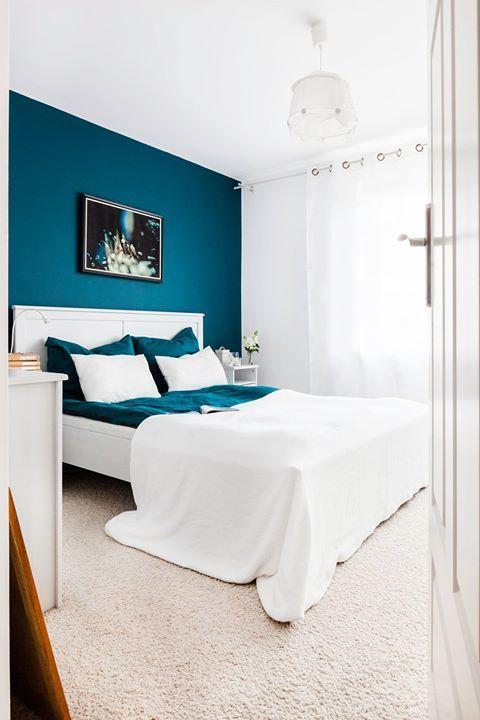 Chambre Bleu Canard En 2020 Chambre A Coucher Couleur Deco