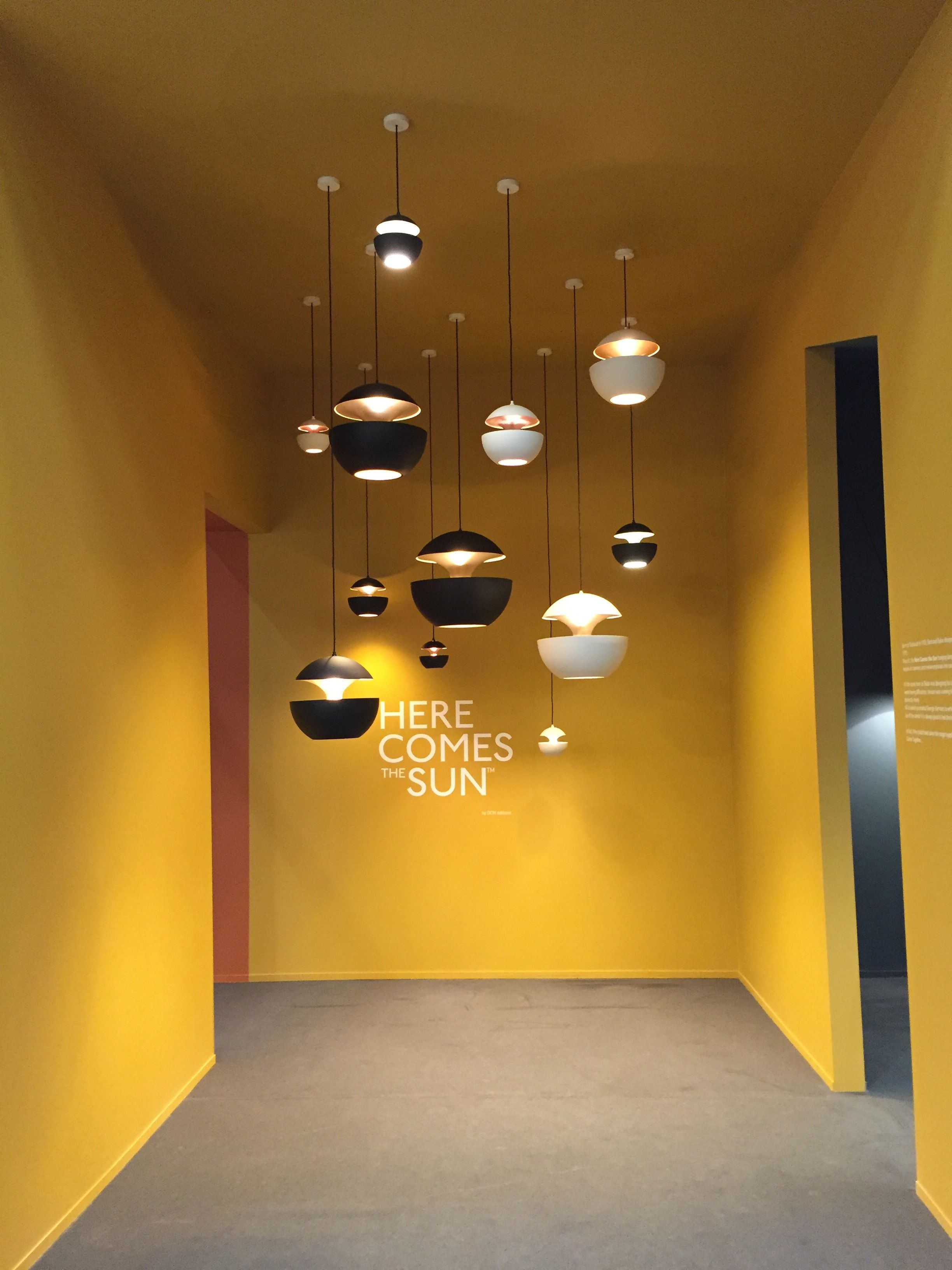 Here Comes the Sun lamps edited by DCW éditions, at Stockholm ...