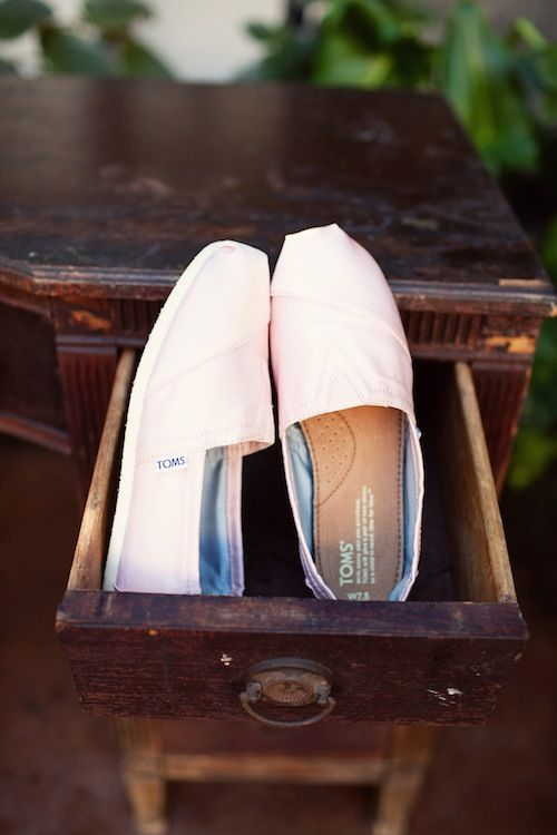 so smitten with TOMS....