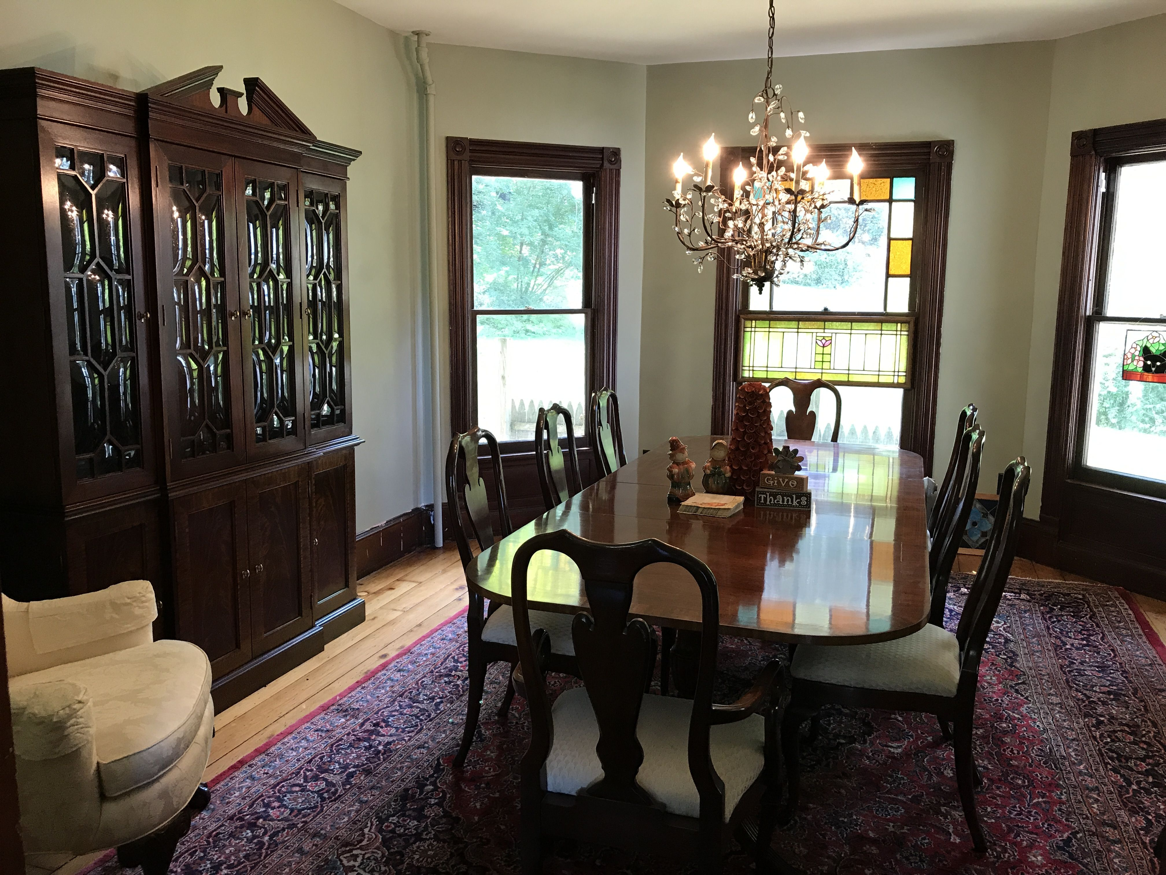 Queen Anne Councill Craftsman Dining Room Set Antique Rock