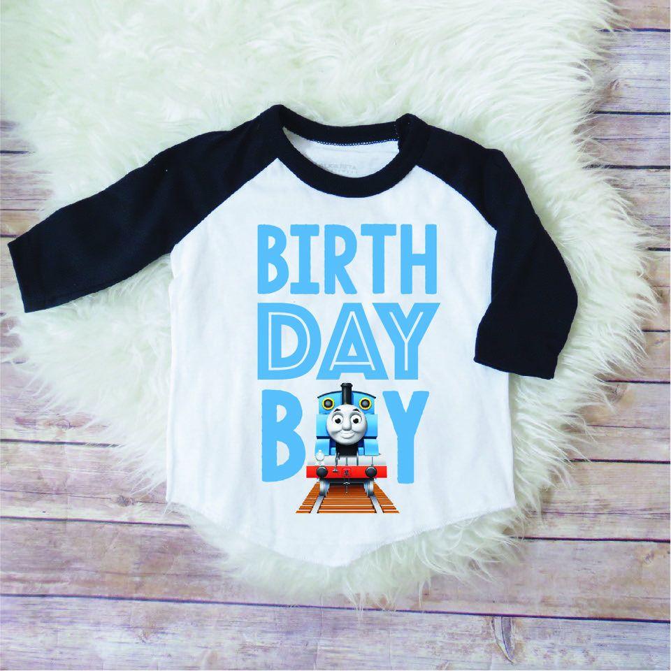 Thomas The Train Birthday Shirt Boy Party