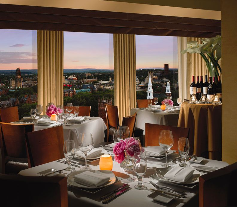 New Haven Hotels Yale Luxury Hotels Omni New Haven Hotel Rooftop Dining New Haven New Haven Restaurants