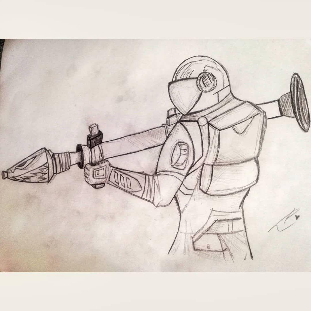 Fortnite Drawing Art