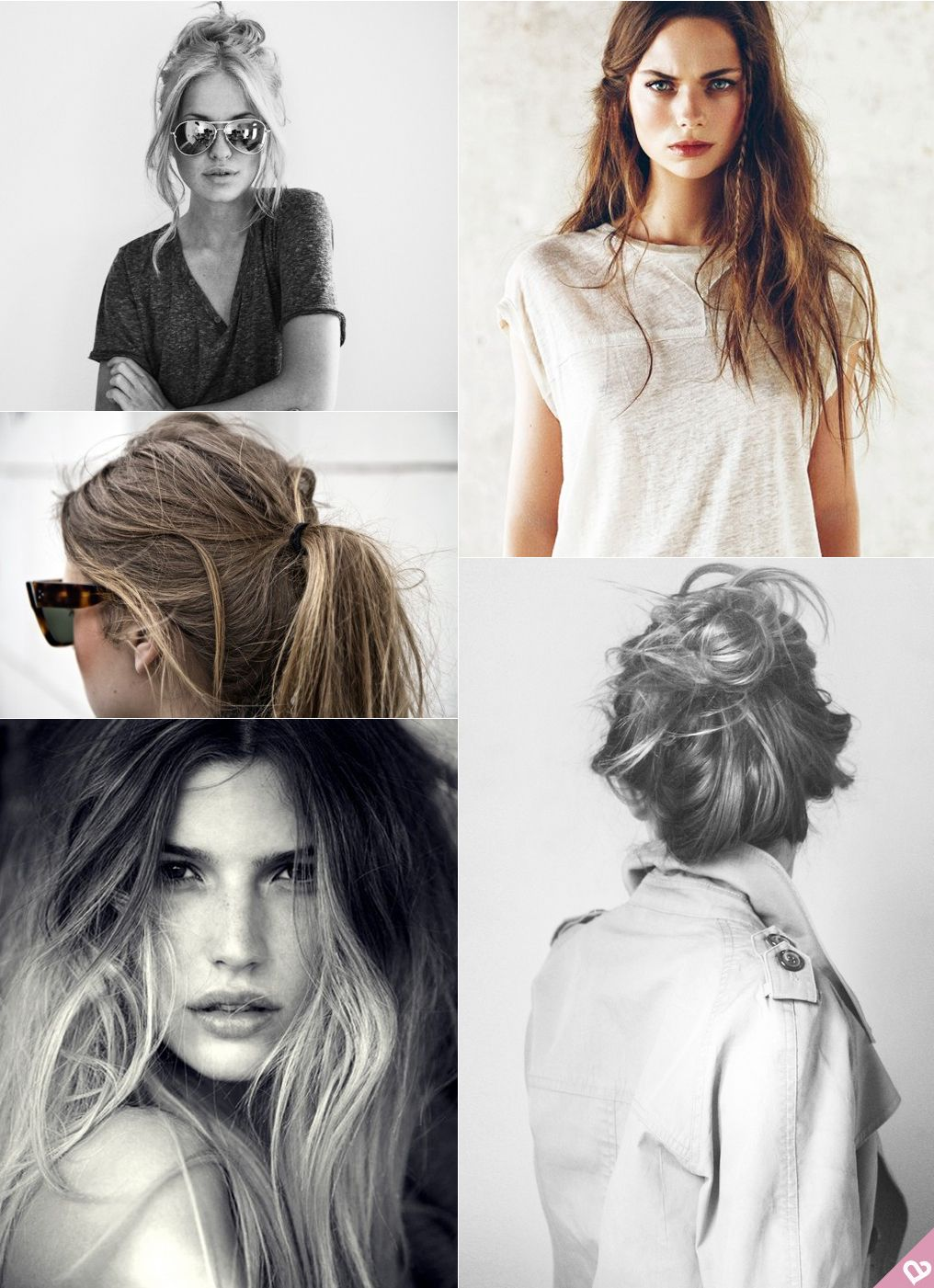 A little messy = so modern. | Everyday Sexy | Pinterest | Messy hair ...