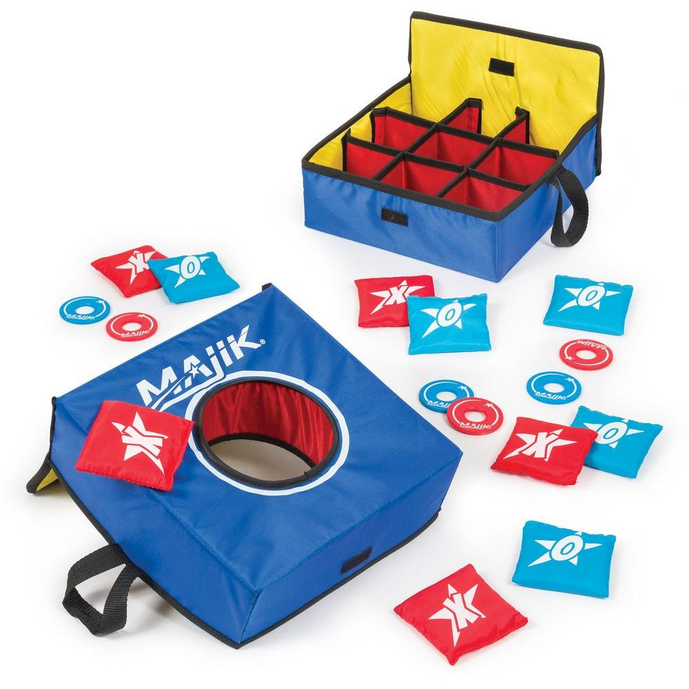 Swell Majik Bean Bag Toss Tic Tac Toe Washer Toss Combo Onthecornerstone Fun Painted Chair Ideas Images Onthecornerstoneorg