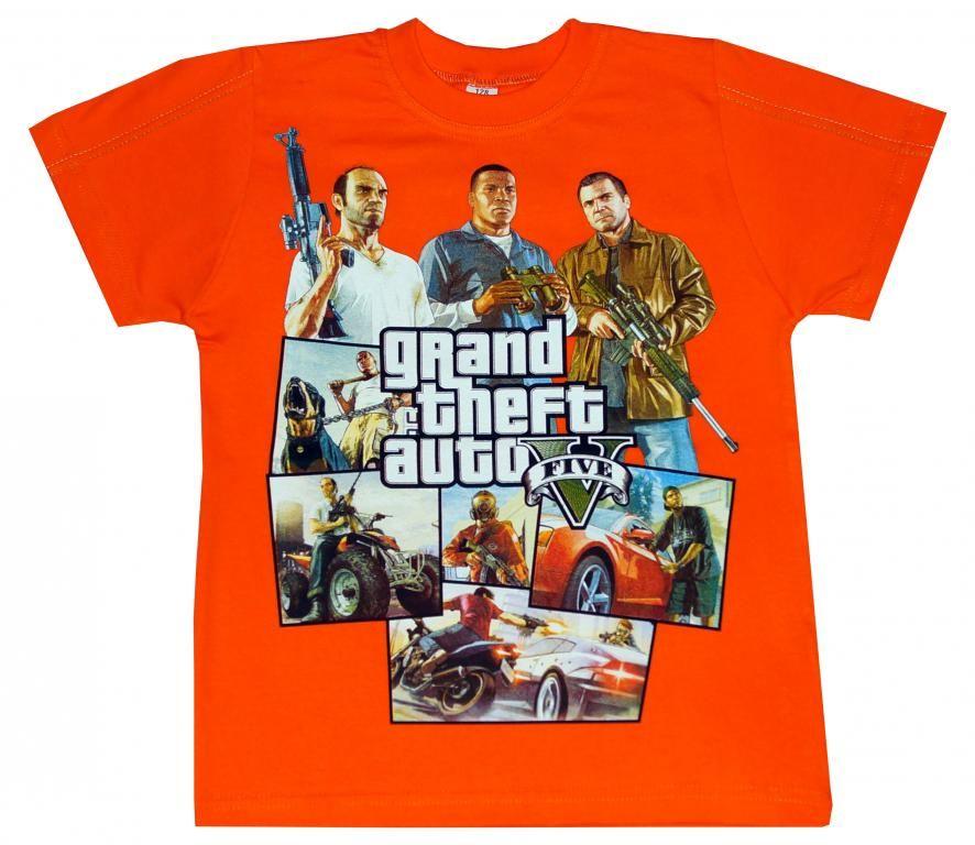 T Shirt Gta V 134 Lato Polska 5356176330 Oficjalne Archiwum Allegro T Shirt Shirts Mens Tshirts