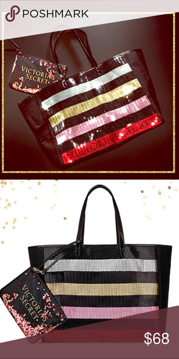 7f9e8dba901 🆕COMING SOON🆕Victoria s Secret Black Friday Tote Victoria s Secret Black  Friday Tote and Mini Bag Victoria s Secret Bags Totes