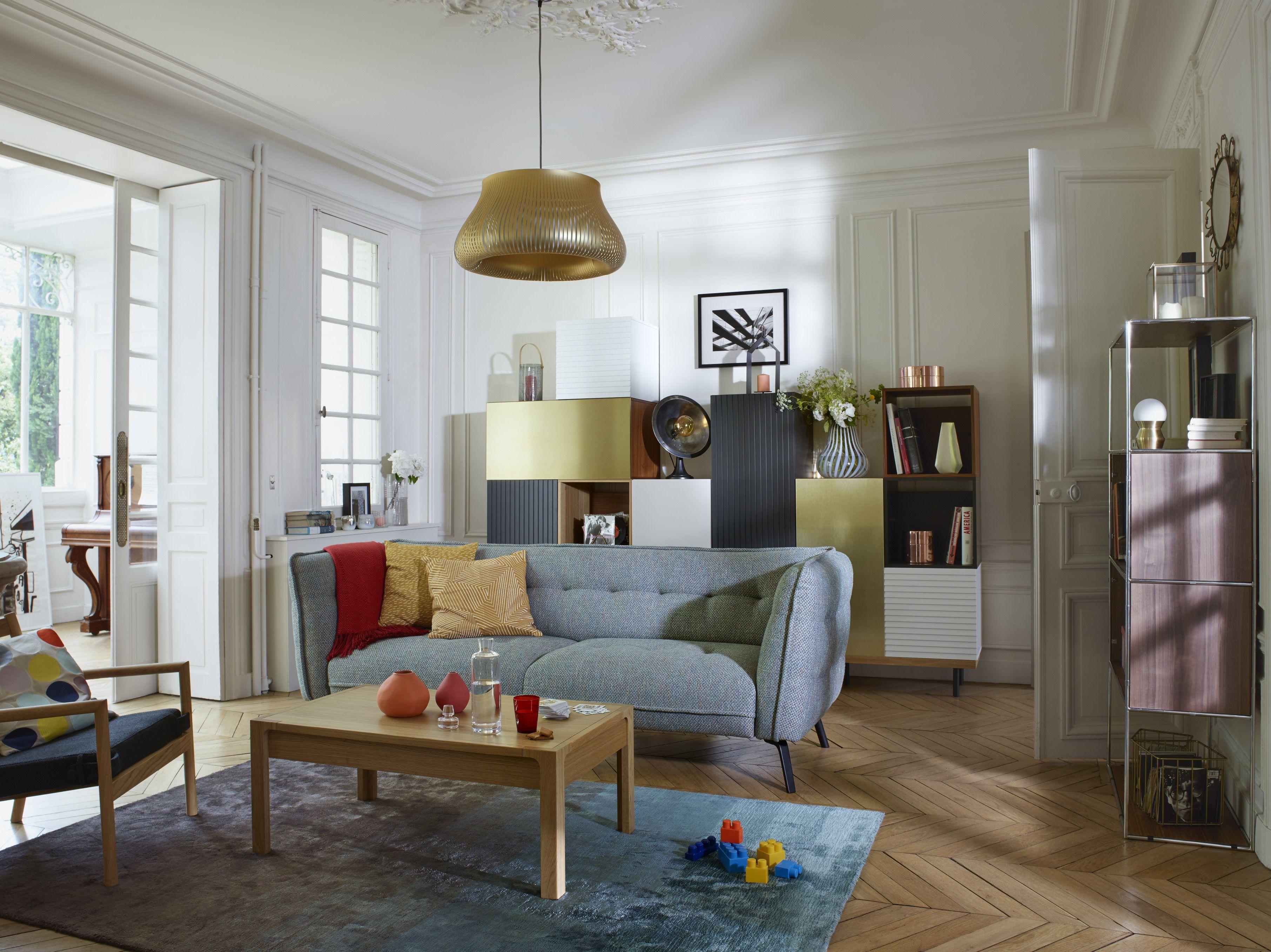 Habitat Catalogue Le Salon Architecte Interieur Salon Vert De Gris