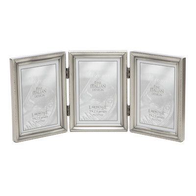 Charlton Home Saunterton Traditional Hinged Triple Picture Frame ...