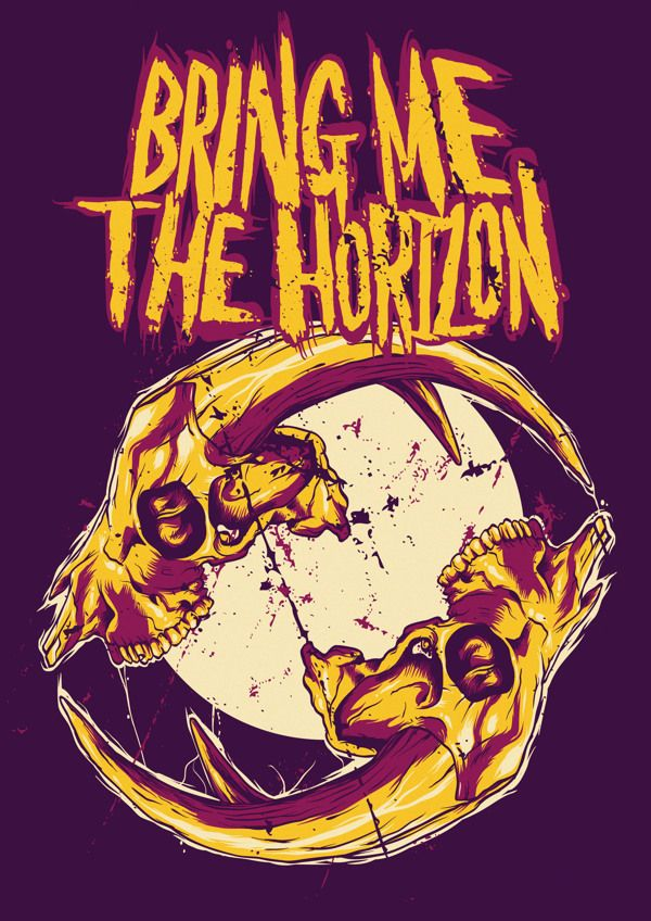 Bring Me The Horizon Fanart By Human Defect Via Behance