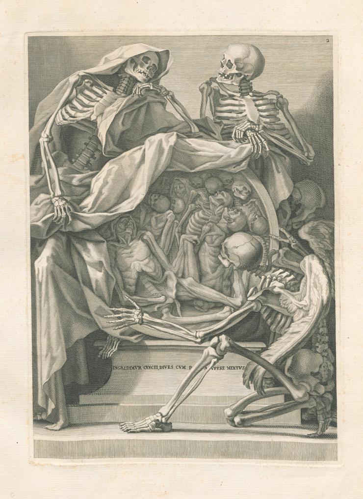 A Portal of Death - #creepyarchives A Halloween peek at a 1691 art ...
