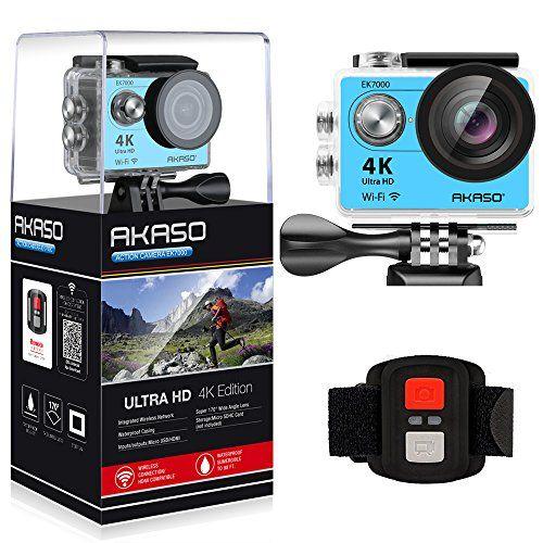 Akaso Ek7000 4k Wifi Sports Action Camera Ultra Hd Waterp Https Www Dp B01lmvis18 Ref Cm Sw R P Sports Action Camera Action Camera Hd Camcorder