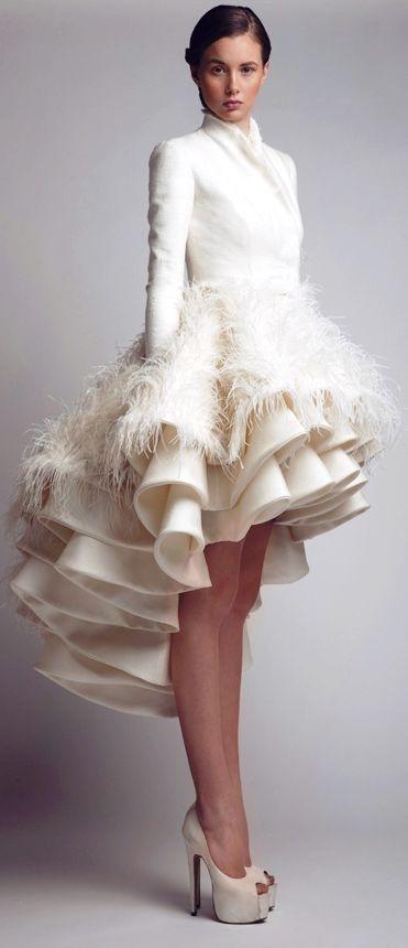 ashi studio: cuello y mangas. tejido lana gris perla | vestidos