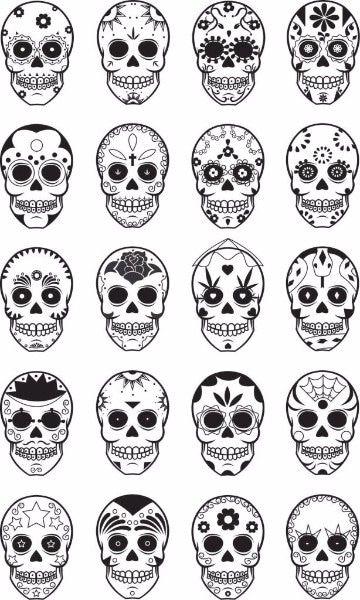 Plantillas De Tatuajes Para El Brazo Gratis Para Descargar 7v7 해골