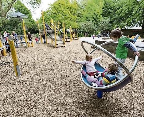 HANNOVER Linden Spielplatz von Alten Garten Kinder hanover germany