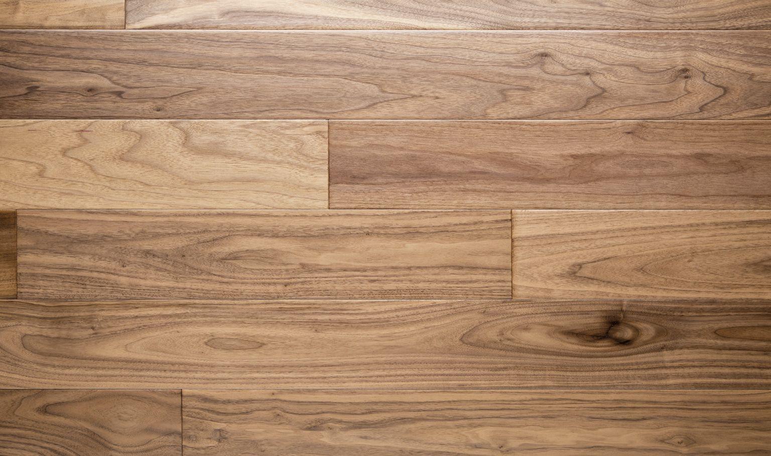 Natural  American Walnut Flooring Hand Scraped Brown
