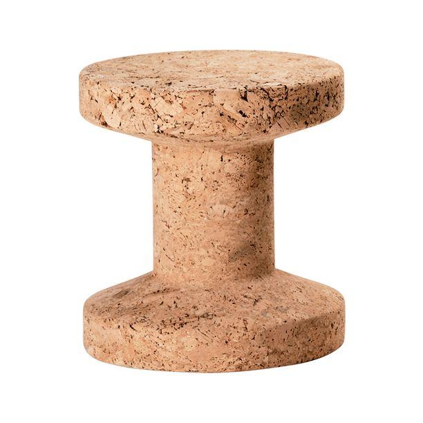 Cork Family Stool Model B furniture, jasper morrison, brown