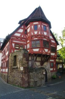 Dine With Pleasure In Stuttgart S Oldest House The Klosterle Is In Stuttgart S Oldest House Which Was Formerly Part Of A Convent House Styles House Old House
