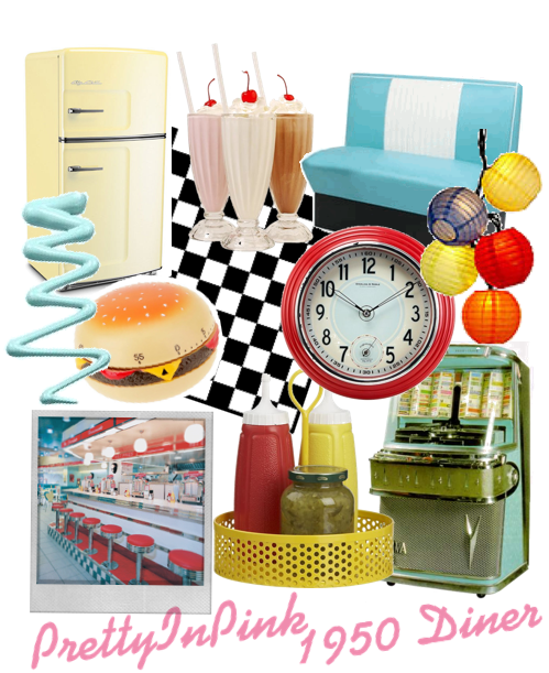 1950's Diner decor collection