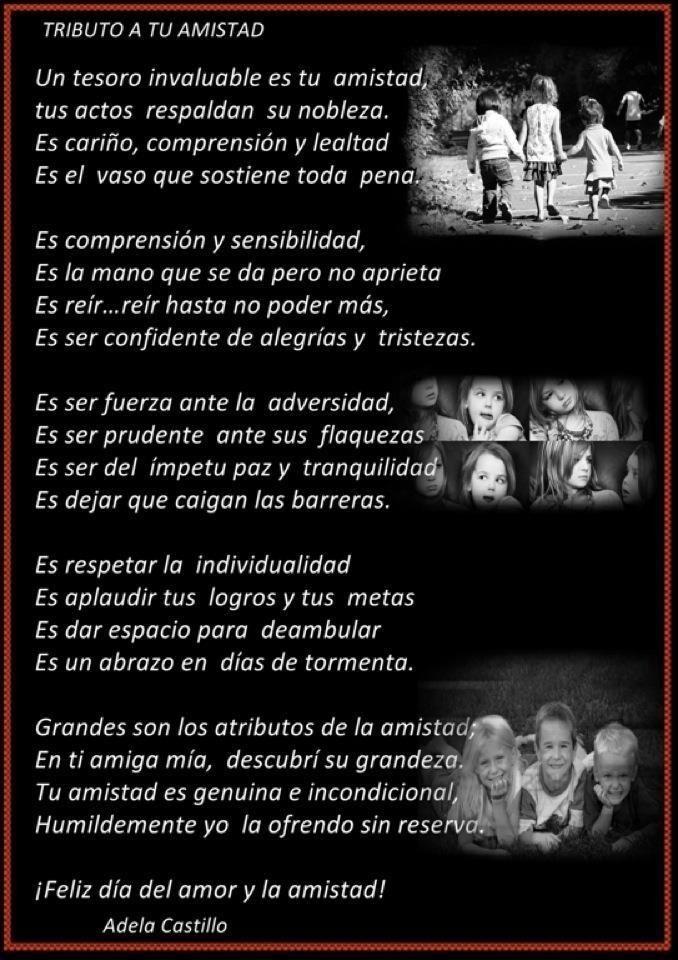La Amistad Es Un Tesoro De Valor Incalculable Poetry Life Literature