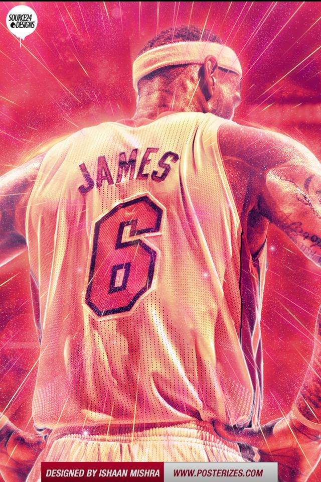 NBA LeBron James Iphone/Ipod Wallpaper (With images) Nba