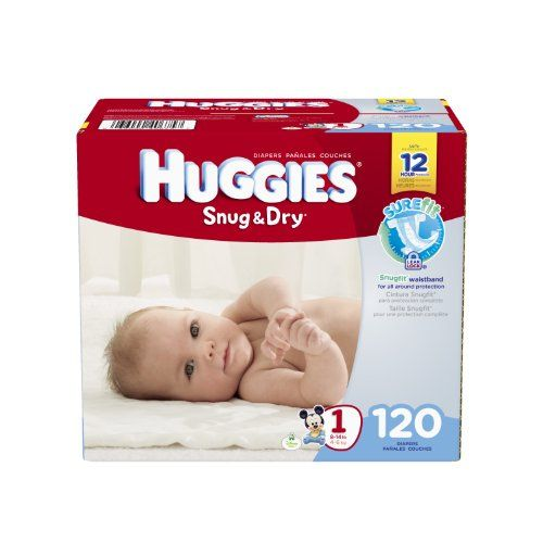 Huggies Snug /& Dry Baby Diapers One Month Supply Size 1 240 Ct