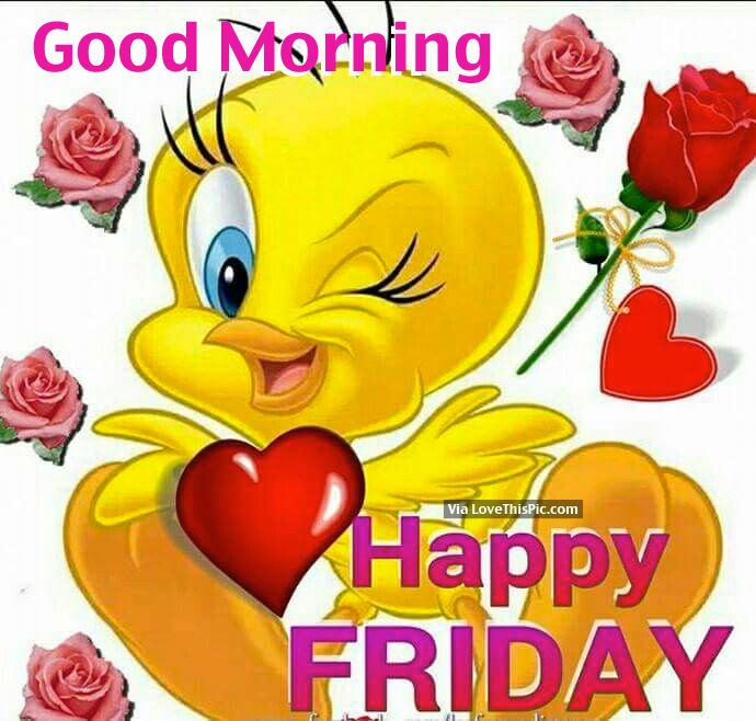 Good Morning Happy Friday Makes Me Smile Good Morning Happy