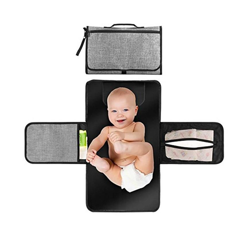 Waterproof Baby Changing Mat Sheet Portable Diaper Changing Pad Travel Table Changing S Portable Diaper Changing Pad Baby Changing Mat Baby Diaper Changing Pad
