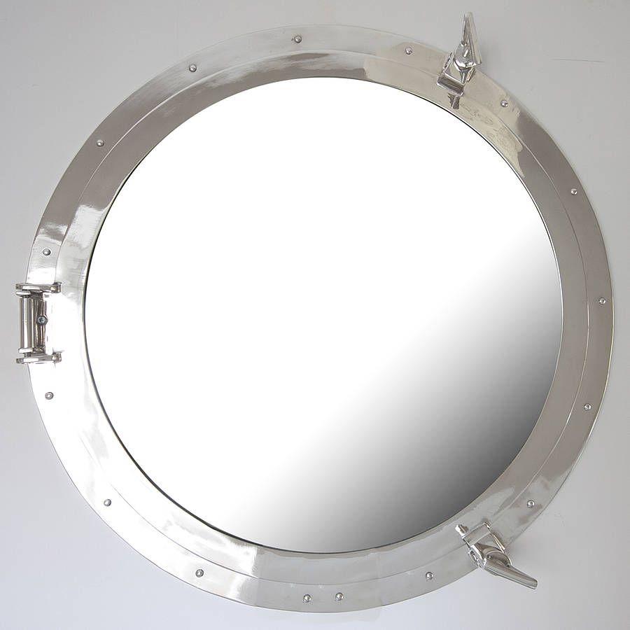 Round Porthole Mirror | Porthole mirror, Rounding and Round mirrors