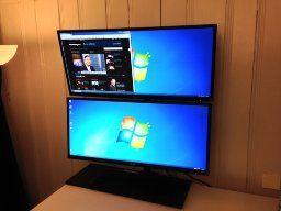 Amazon Com Dual Lcd Monitor Desk Mount Stand Heavy Duty