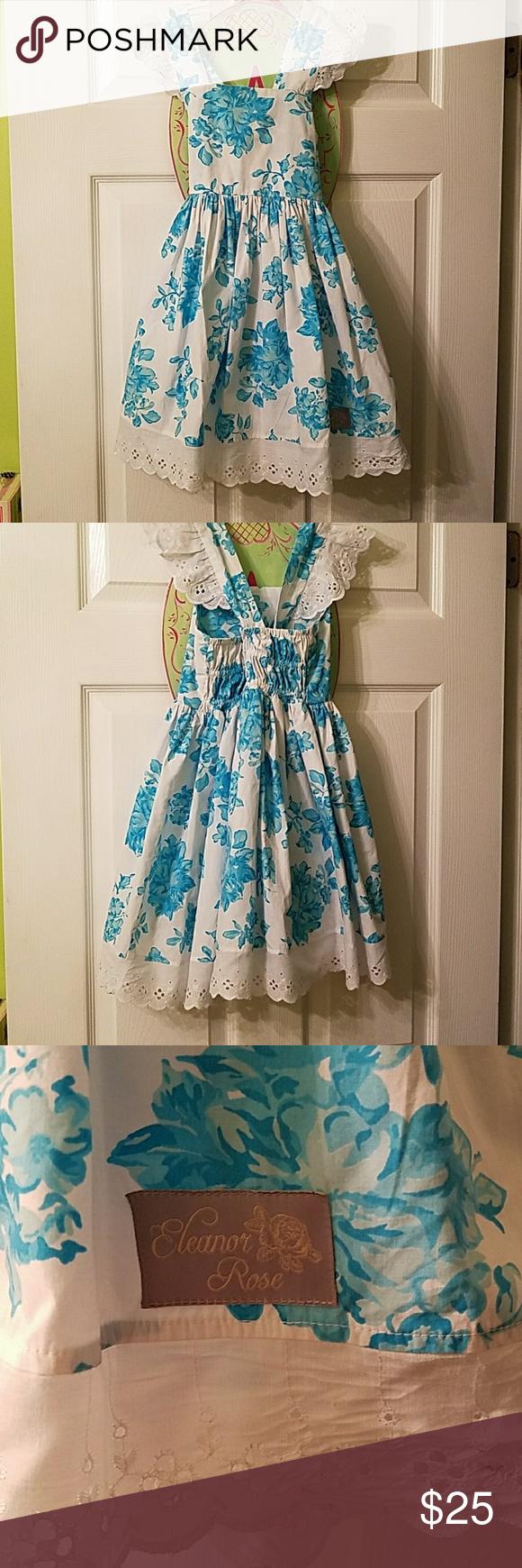 Eleanor Rose dress Blue and white Eleanor Rose Dresses Casual