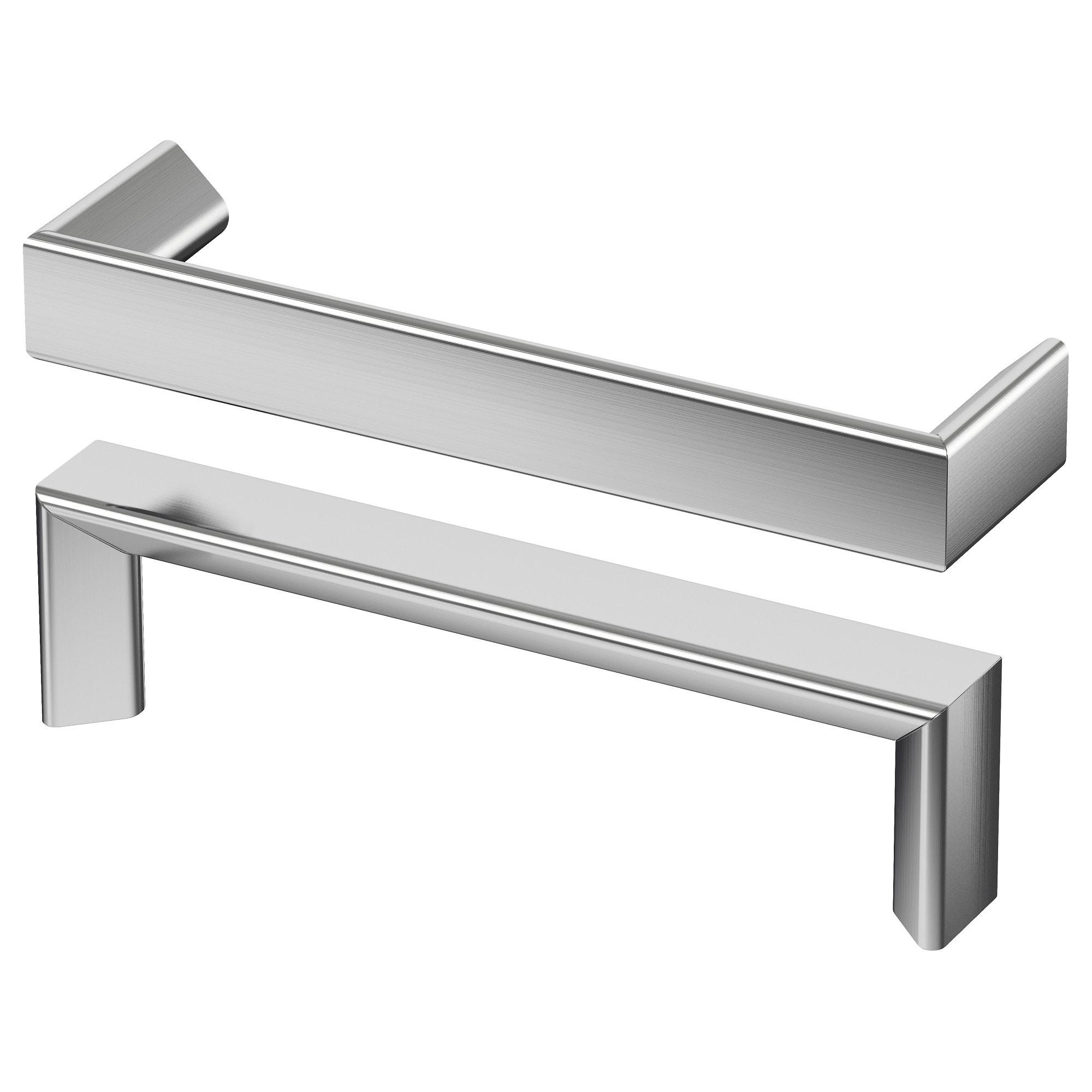 Tyda Handgreep Roestvrij Staal 138 Mm Ikea Cabinet Handles Ikea Kitchen Door Handles