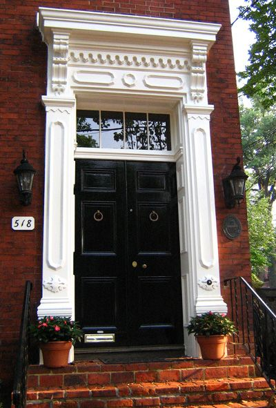Georgian Colonial Paneled Doors