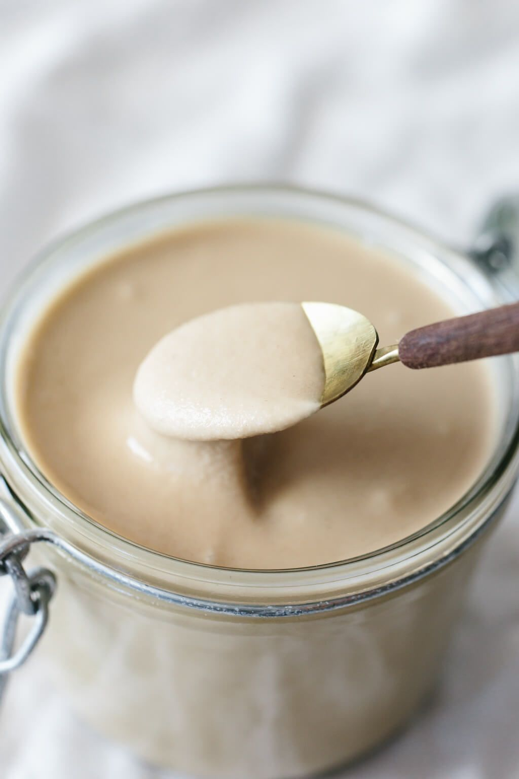 Recipe (Super Easy & Creamy!) Tahini is super easy to make at home and cheaper than buying in the store. But I have a few tips for the creamiest, best tahini recipe.Tahini is super easy to make at home and cheaper than buying in the store. But I have a few tips for the creamiest, best tahini recipe.