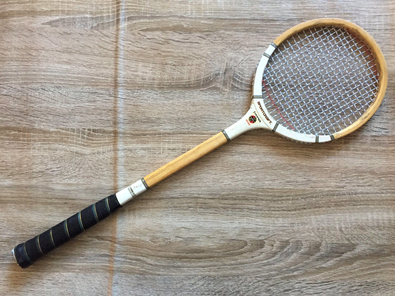 Vintage Sportcraft Stamina Deluxe Badminton Squash Racquet Squash Racquets Vintage Badminton