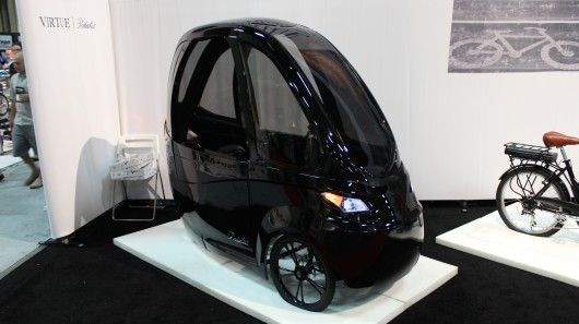 Well, the popular Elf velomobile may be in for some competition. San Diego-based Virtue Cycle Solutions has developed a sort of electric cargo trike/pedal car type thing of its own, that it's hoping to bring to production sometime soon.