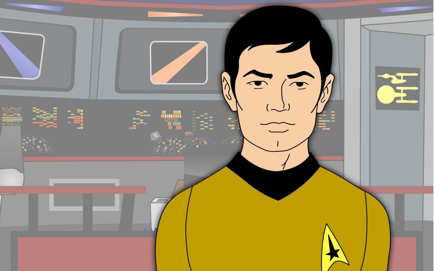 Star Trek: The Animated Series - Sulu | Heroes from a Thousand ...