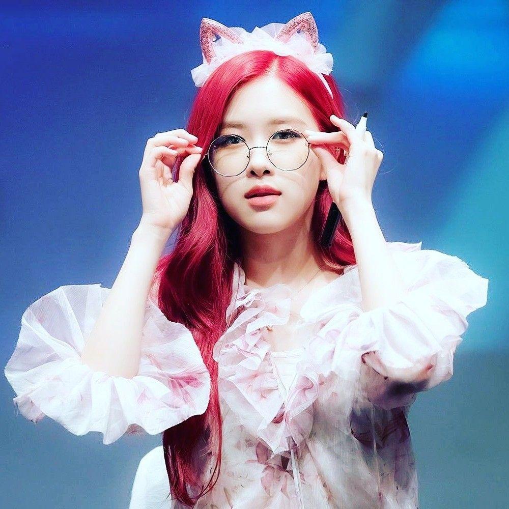 Rose Roseblackpink Redhair Blackpink Gadis Lucu Gambar Cara Menggambar
