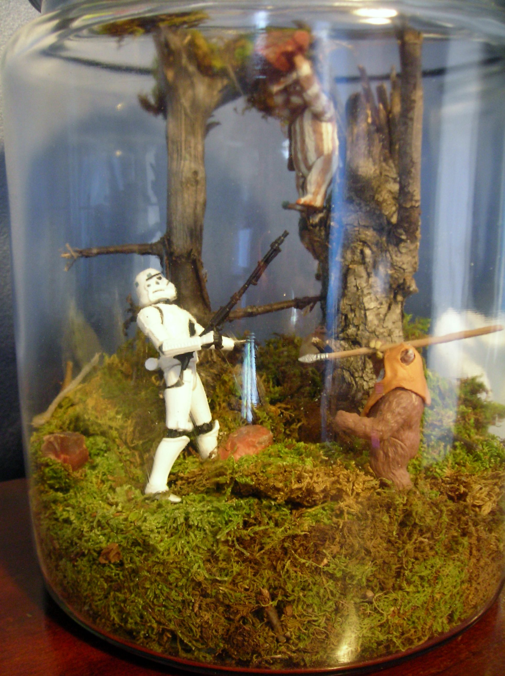 Is it crazy that i want endor terrariums for my wedding we are