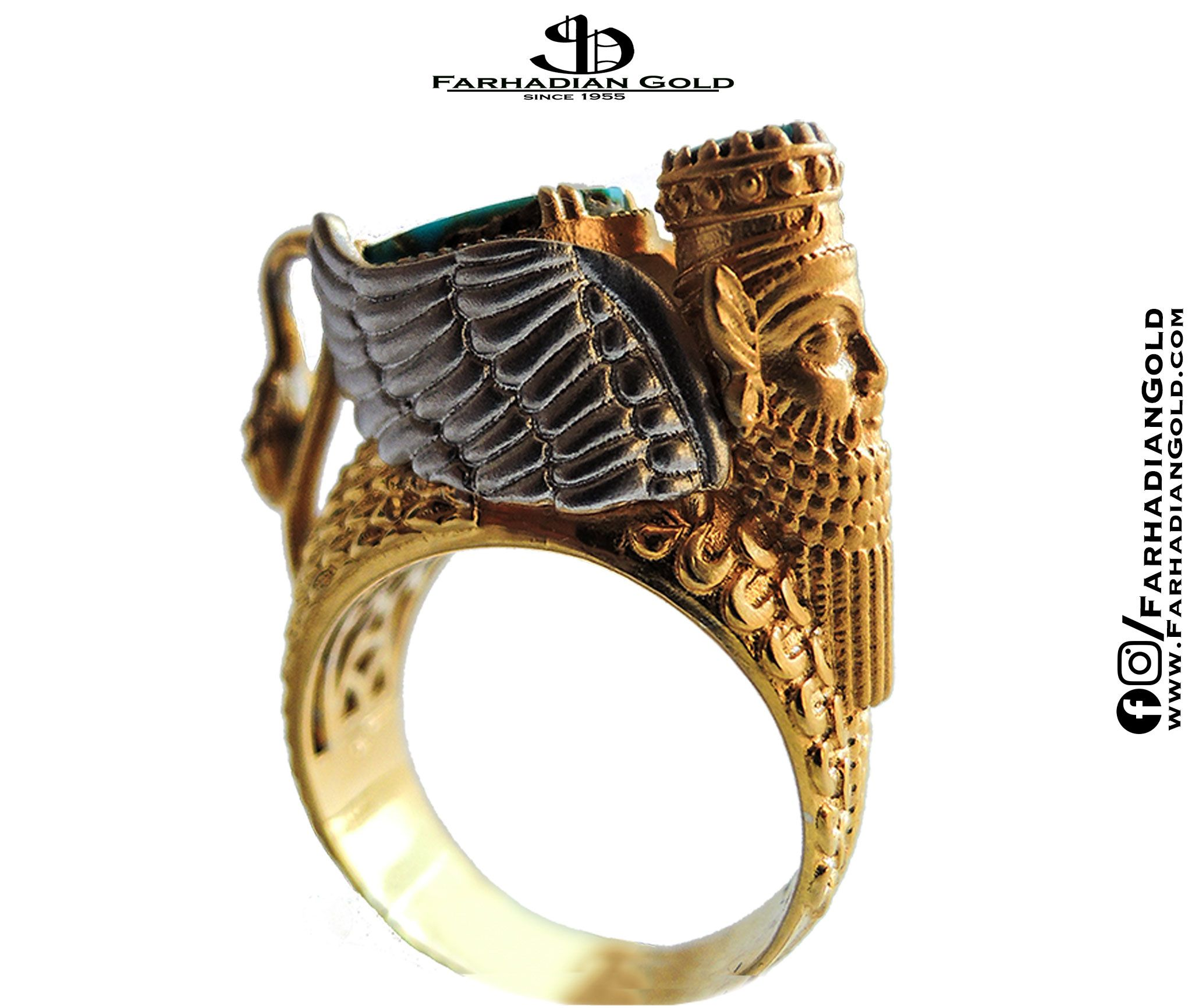 Farhadiangold ring pinterest ring designs jewelry art and ring