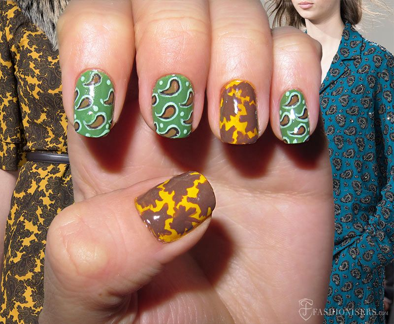 Fall 2015 Runway Inspired Nail Art Designs | Beauty guide