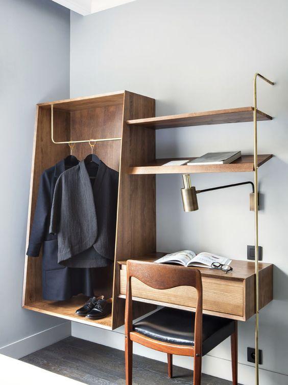 Minimalist Hotel Room: Minimalist Guys Dorm Room Ideas