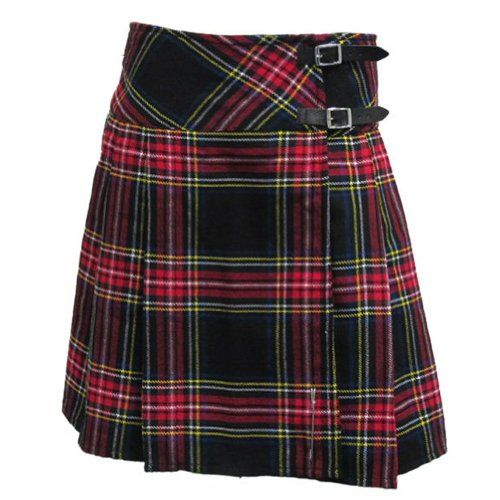 Huge Choice of Plaids//Tartans with Free Pin Tartanista 20 Kilt Skirt