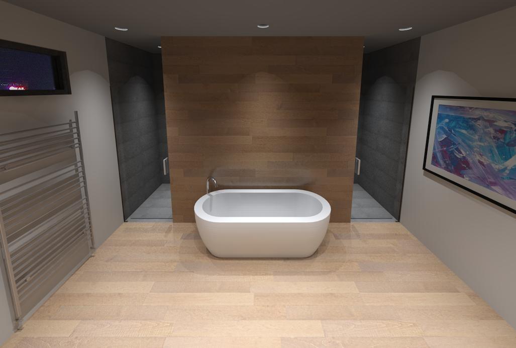 Master Ensuite Oasis w/ Custom Lighting Wood Grain Porcelain Tile Free Standing Tub & Master Ensuite Oasis w/ Custom Lighting Wood Grain Porcelain Tile ... azcodes.com