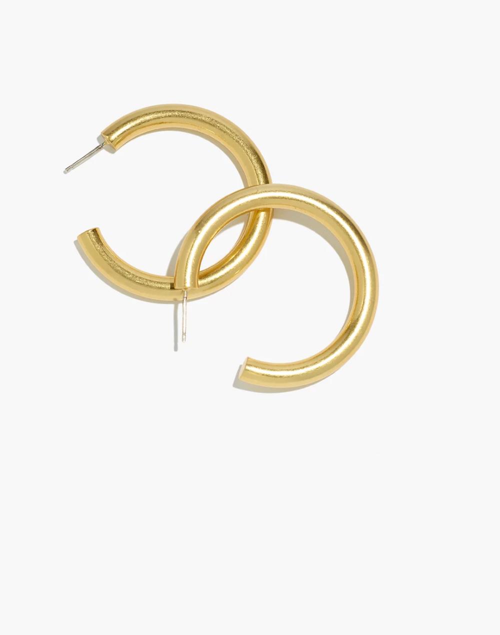 Chunky Large Hoop Earrings Large Hoop Earrings Big Hoop Earrings Women S Earrings