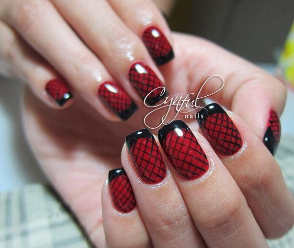 35+ Cute Nail Designs for Short Nails - 35+ Cute Nail Designs For Short Nails Black Nails, Short Nails