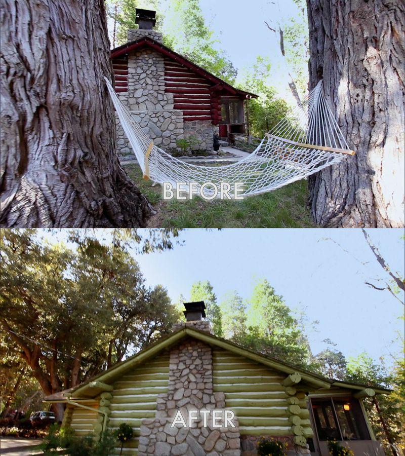 An Update On My Log Cabin Renovation: #Dreambuilders #TeamRed's Re-designed House. #design