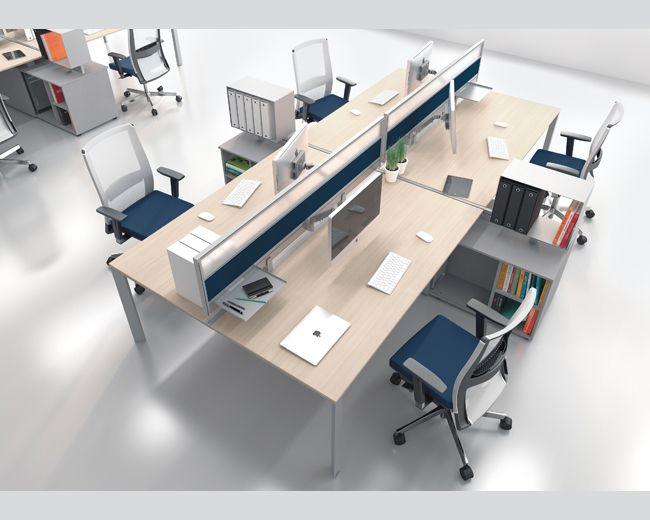 Scrivanie Multiple Ufficio  miami