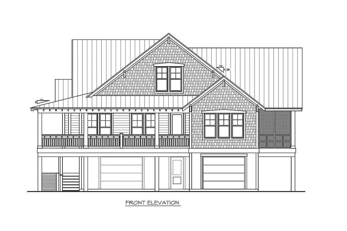 Plan 15026NC Three Level Beach House Plan Beach house plans